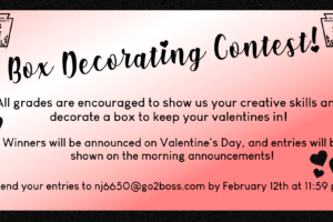 Valentine Contest Flyer