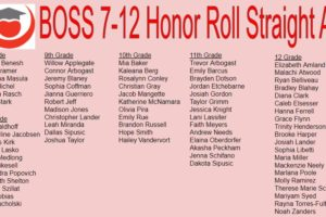 jr sr high honor roll q2