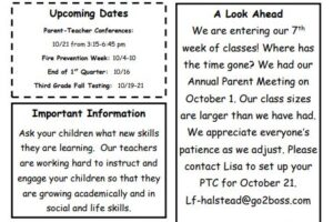 Elementary October Newsletter
