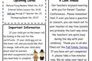 Elementary November Newsletter