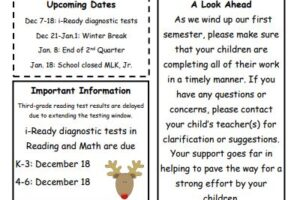 BOSS Elementary December Newsletter