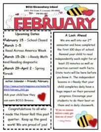 BOSS Elementary February Newsletter